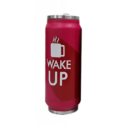 JARRO TERMICO WAKE UP FUCSIA 500 ML