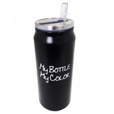 JARRO TERMICO MY BOTTLE NEGRO 500ML