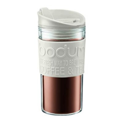 BODUM TRAVEL MUG DOBLE PARED 0.35 L BLANCO