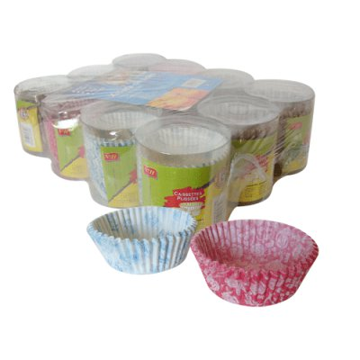 SET X 12, X 150 CAKES CUP. 7.5 CMS