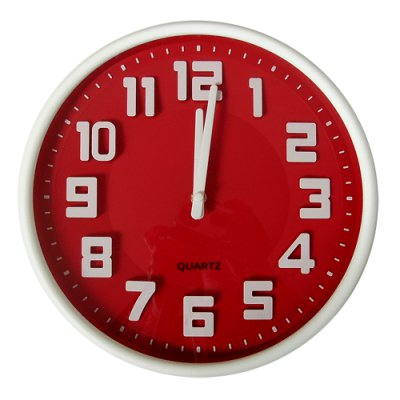 RELOJ PARED RED 30,5CM