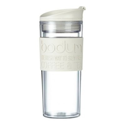 BODUM TRAVEL MUG 0.45L WHITE